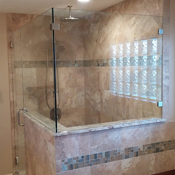 Luxury Showers creative luxury showers | custom frameless showers